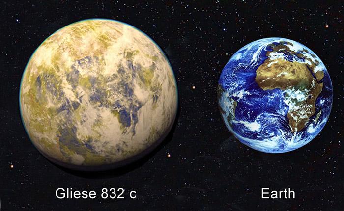 Планета Gliese 832 c