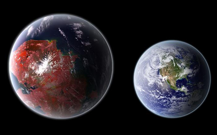 Планета Kepler-442 b