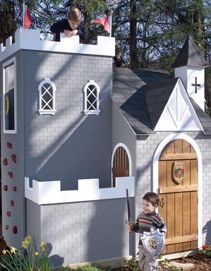 Замок для маленьких рыцарей