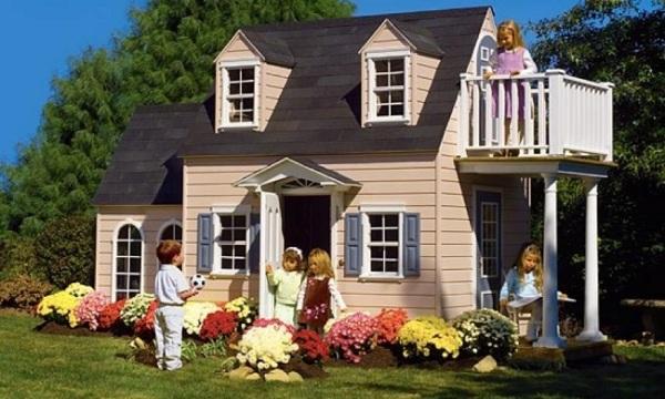 Огромный игровой домик для детей