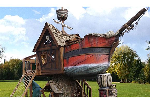 Пиратский корабль ждёт своего капитана