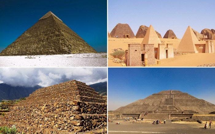 Тайны основных пирамид Старинного мира