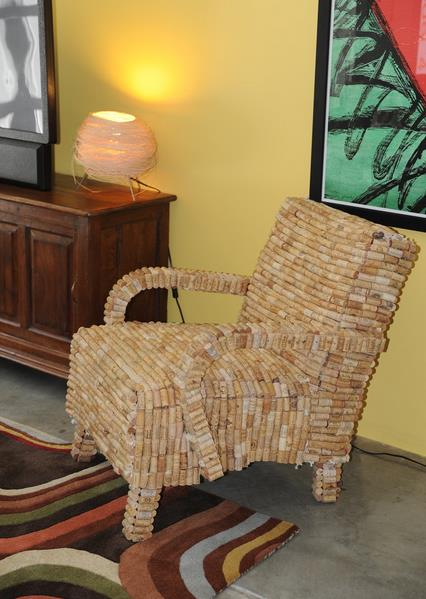 Приятно устроиться на кресле, изготовленном собственными руками