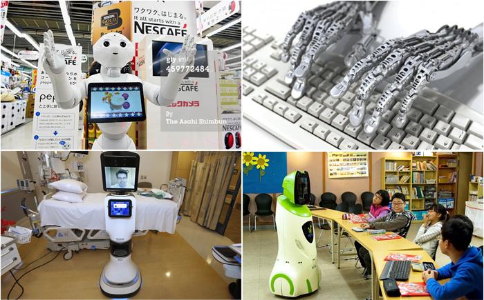 Роботы наступают: кто останется без работы через 20 лет