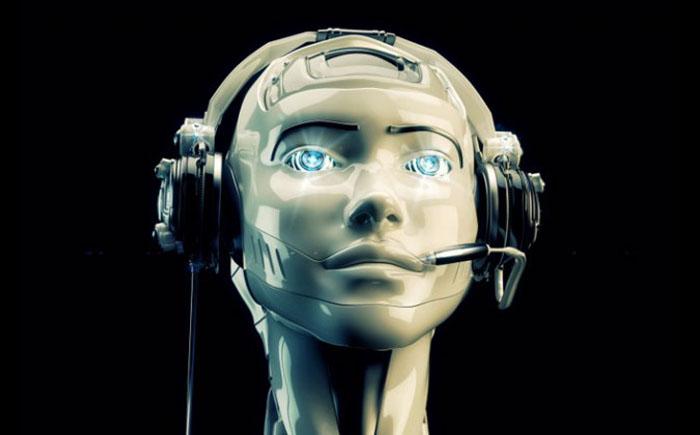 Робот в службе технической поддержки