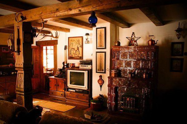Дом деревенский картинка