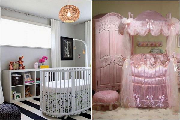 Красивые спальни в розовых и белых тонах