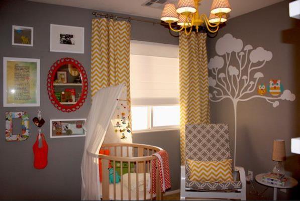Эклектика в детской комнате