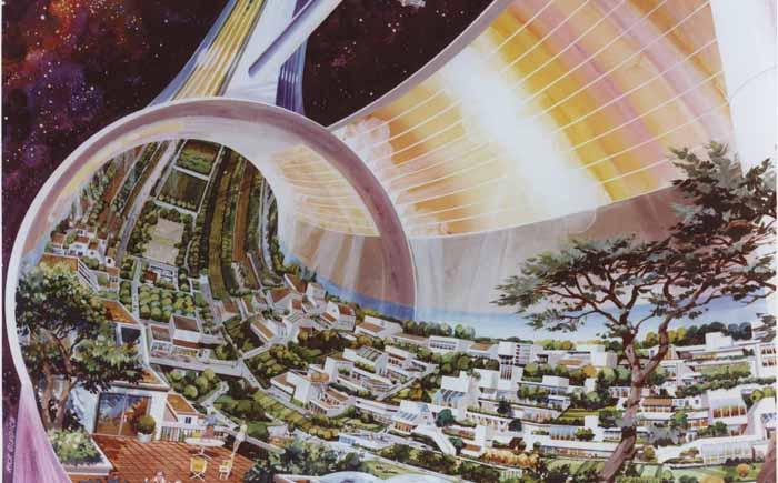 Отдаленные поселения в космосе