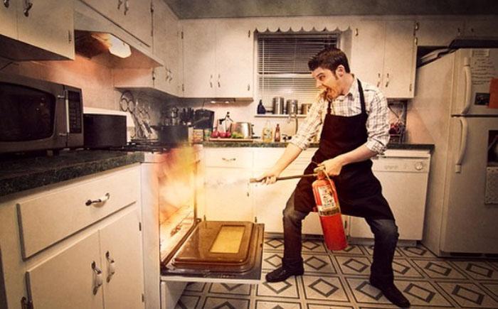 Как приготовить съедобный ужин и не сжечь дом