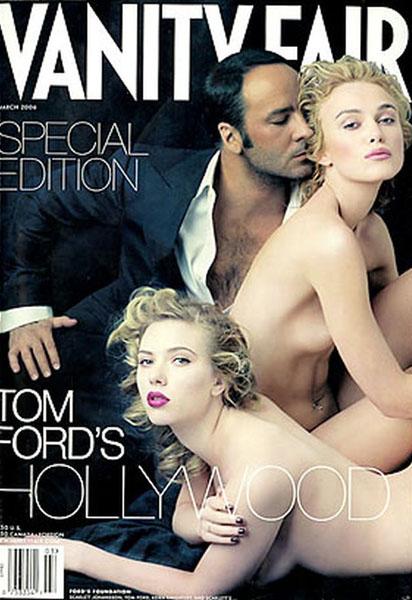 Скарлет Йохансон и Кира Найтли в журнале «Vanity Fair», 2006