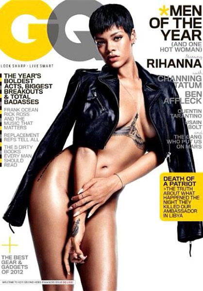 Рианна в журнале «GQ», 2012