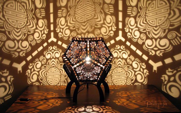 Магический свет и волшебные узоры на стенах от чешских дизайнеров