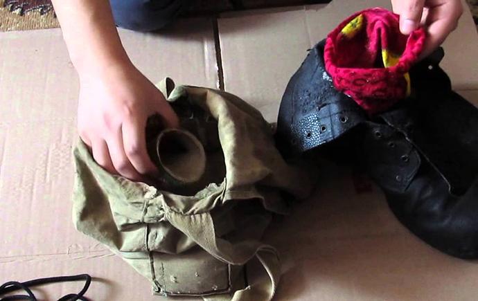 Сушка кожаной обуви