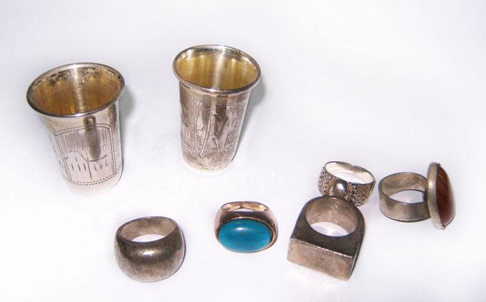 Чистые серебрянные изделия