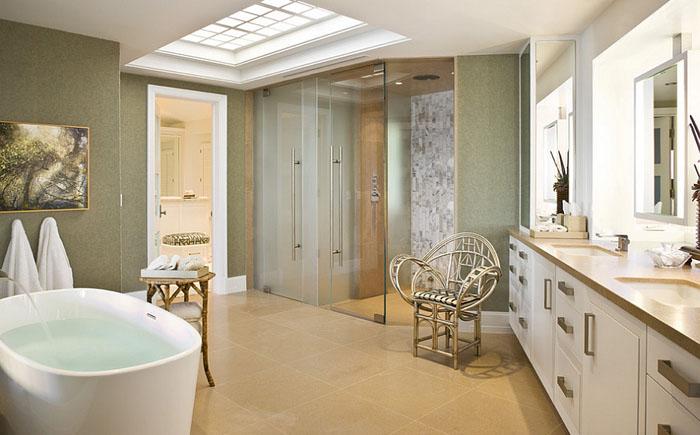 Современная ванная от Harte Brownlee & Associates Interior Design