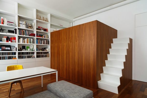 Маленькая квартира с секретом