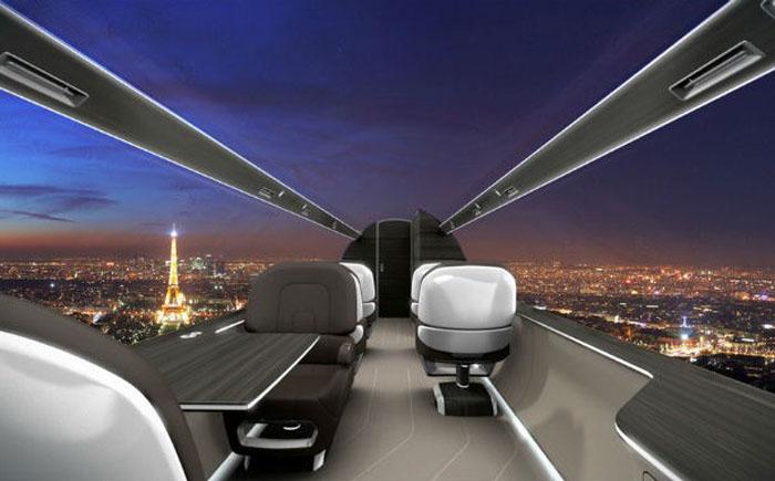 Самолеты без иллюминаторов