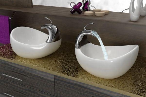 Умывальник  Swan Vessel от Amin Design