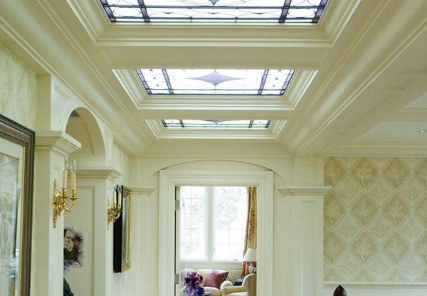 Потолочные витражные окна