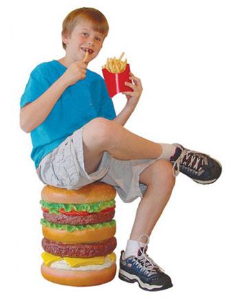 Стул-гамбургер