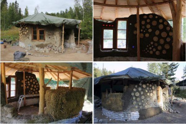 Маленький экодом на юге Финляндии