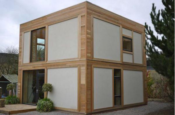 Потрясающие каркасные дома от ModCell