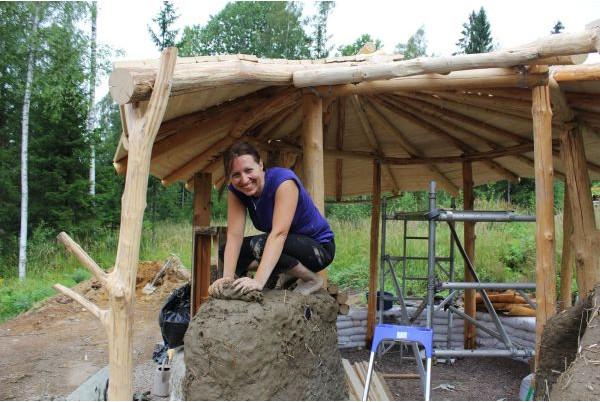Строительство домика в Финляндии