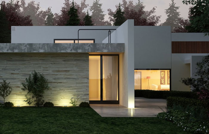 Дом от Eagle Ozkan Construction via Interior Design