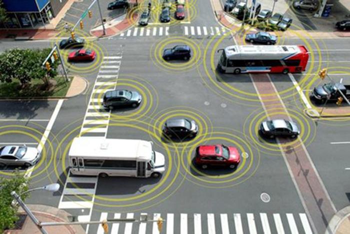 Автомобильный коммуникатор/ технология V2V