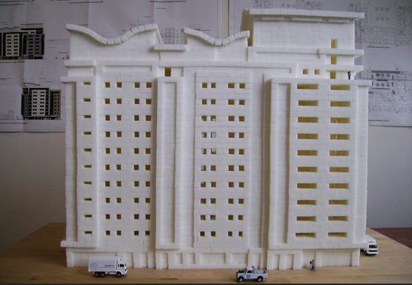 Из рафинада можно построить дом, хотя бы выставочный экземпляр