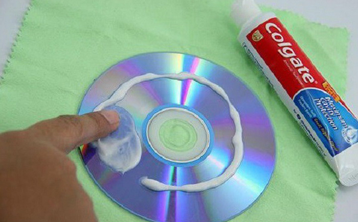 Царапины на DVD и CD