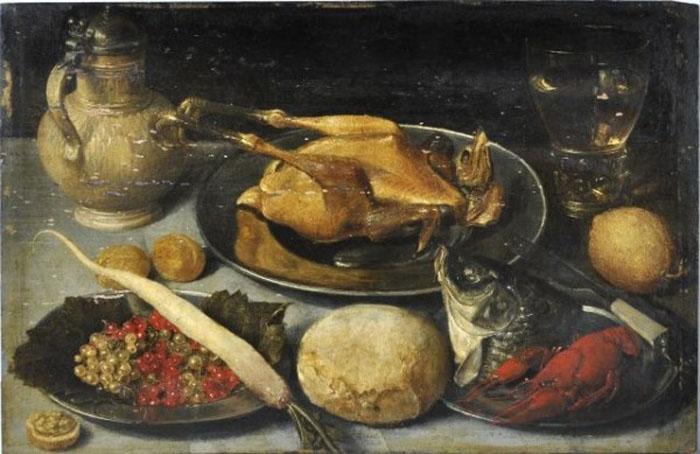 Картина фламандских художников