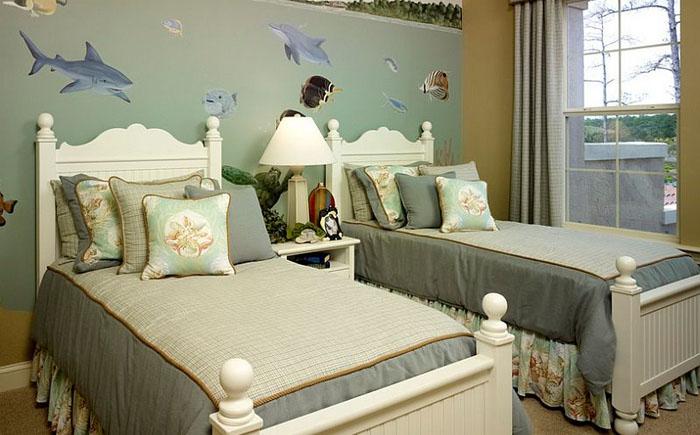 Lendry Homesорская тематика в интерьере детской спальни от  Lendry Homes