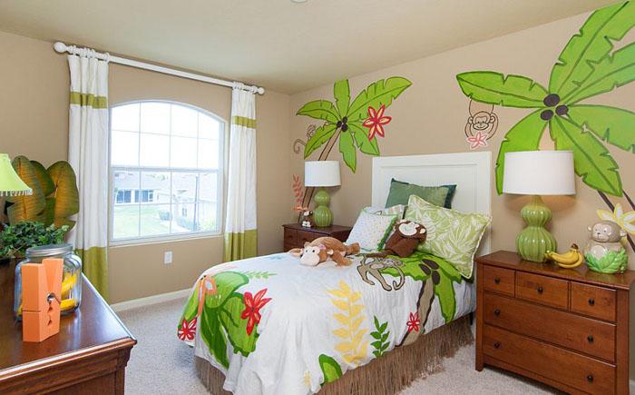 ркая детская спальня от Mercedes Premier Homes