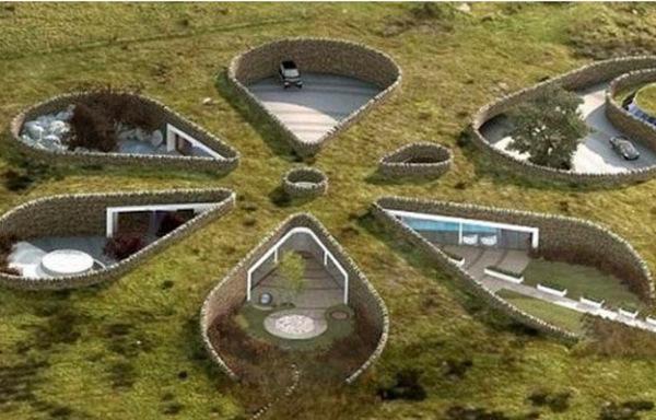 Подземный экодом от Make Architects