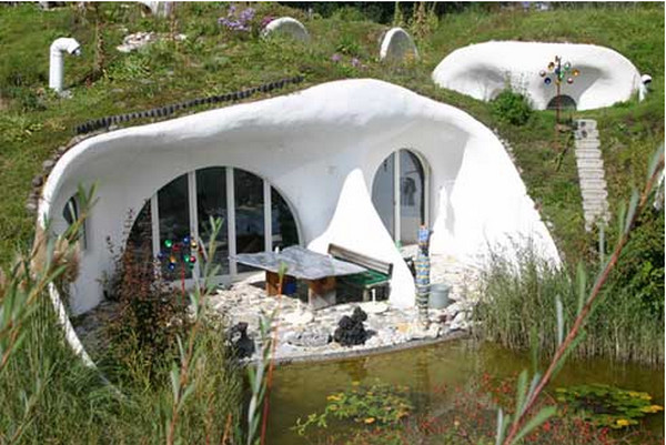 Земные дома от Peter Vetsch