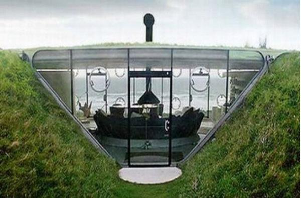Дом Malator на валлийском побережье