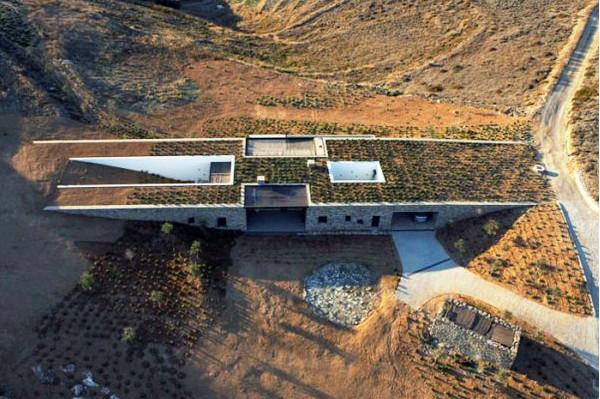 Дом Aloni на Кикладских островах