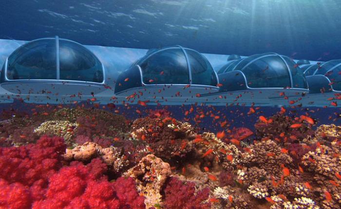 10 захватывающих подводных отелей