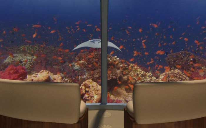 Подводный курортный комплекс «Посейдон», Фиджи