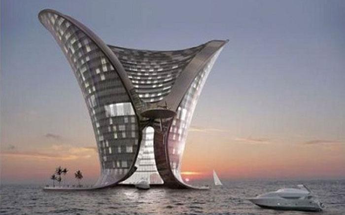 Островной отель «Апейрон», Дубай