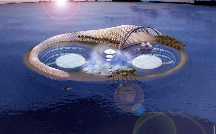 Подводный город «Полумесяц», Дубай