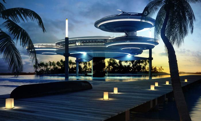 Отель «Диски на воде», Дубай