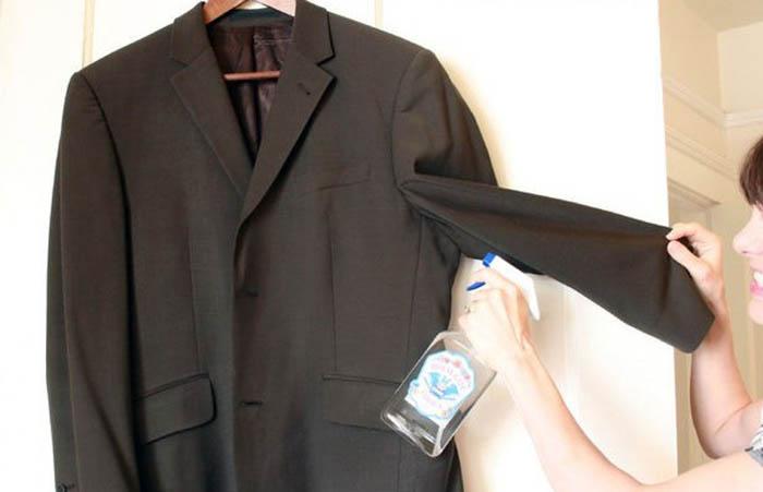 Чистим одежду