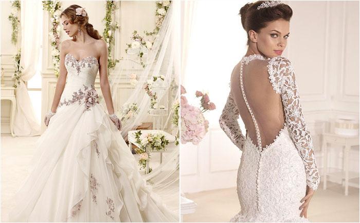 Свадебные платья 2015: модные тенденции от современных дизайнеров