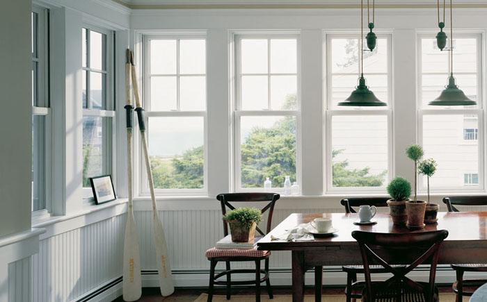 Окно с одной  подъёмно-опускной створкой