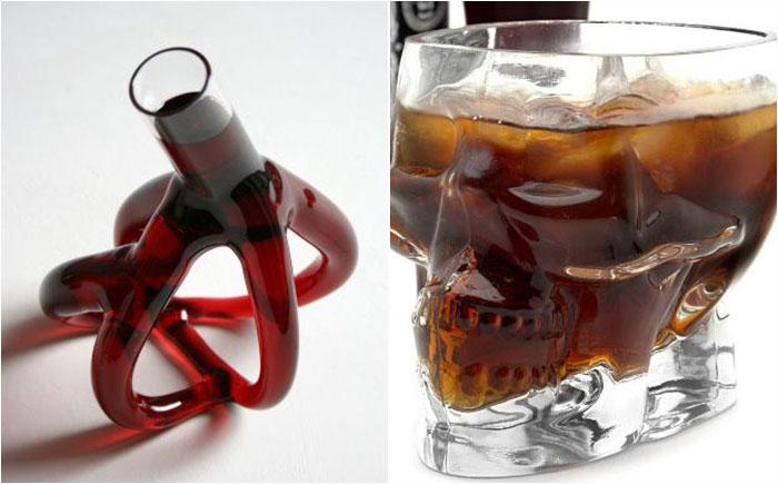 5 самых безумных бокалов для вина, которые и даром никому не нужны