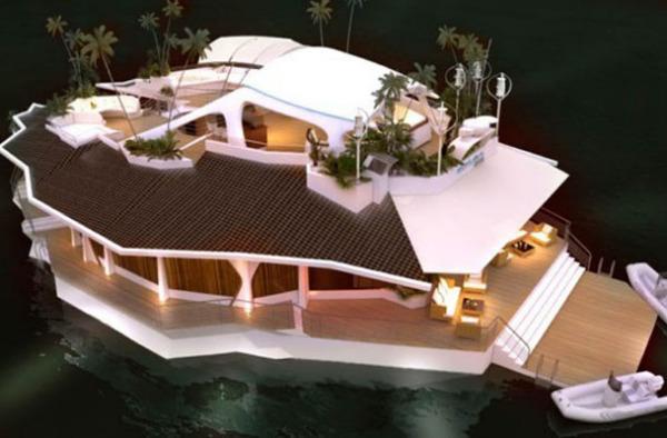 Яхта-остров ORSOS Islands
