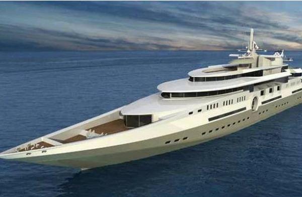 Самая длинная частная яхта в мире